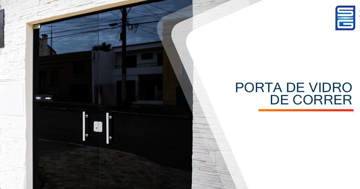 Porta de Vidro Temperado Sorocaba