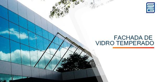 Fachada de Vidro Temperado Alcídes Vieira Araçoiaba da Serra