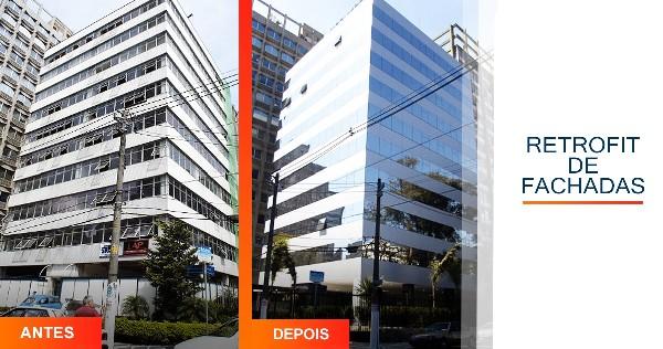 Retrofit de Fachadas Alcídes Vieira Araçoiaba da Serra